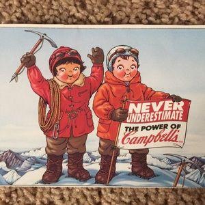 Vintage Lot of 12 Campbell's Soup Postcards.